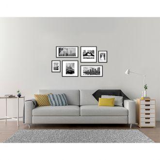 6 Molduras COM Revelação Fotográfica (115cm X 60cm)