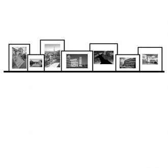 7 molduras COM Revelação Fotográfica