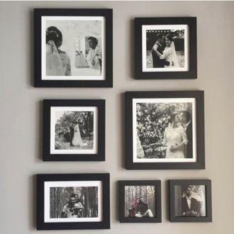 7 molduras COM Revelação Fotográfica (50cm X 70cm)