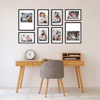 8 Molduras COM revelação fotográfica (130cm X 70cm)