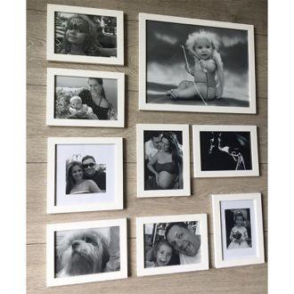 9 molduras COM revelação Fotográfica (70cm X 80cm)