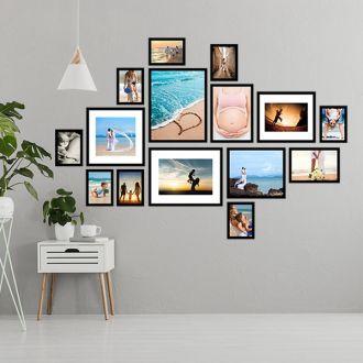 15 molduras COM revelação fotográfica (190cm X 130cm)