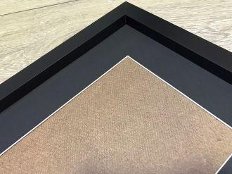 Moldura Caixa 25x30 C/ Passe-partout foto 20x25