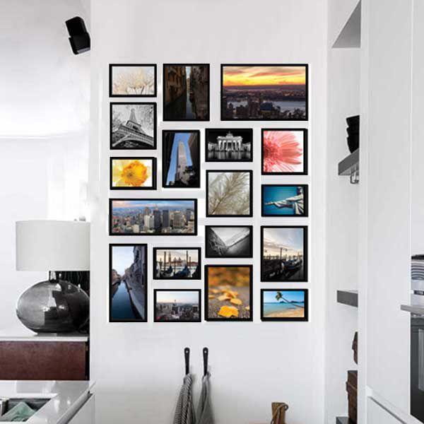 18 molduras COM Revelação Fotográfica (100cm X 130cm)