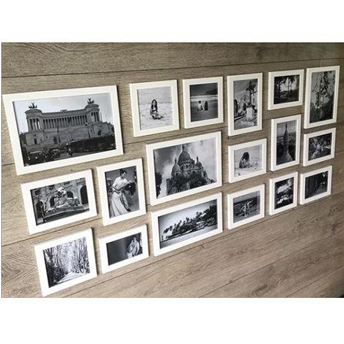 18 molduras COM Revelação Fotográfica (145cm X 65cm)