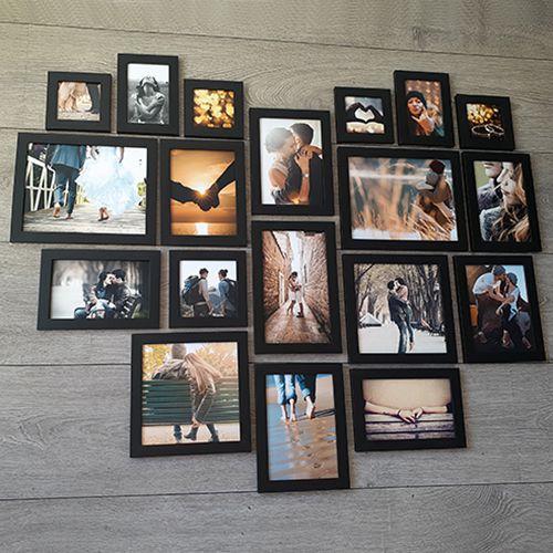 19 molduras COM revelação fotográfica (120cm x 100cm)
