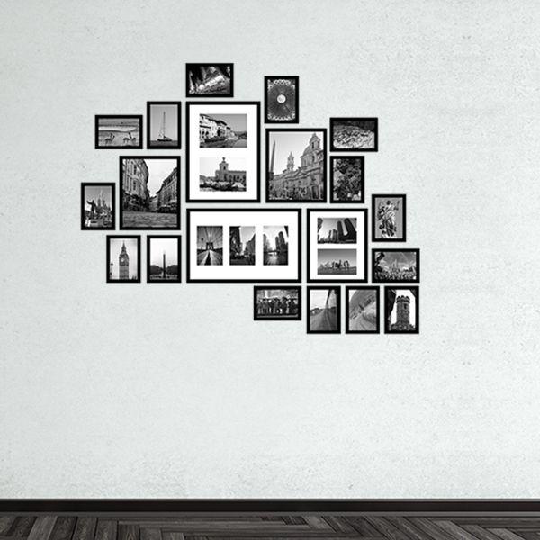 20 molduras COM revelação fotográfica (125cm x 100cm)