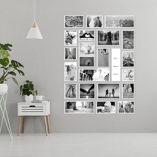 22 molduras COM Revelação Fotográfica (100cm X 150cm)