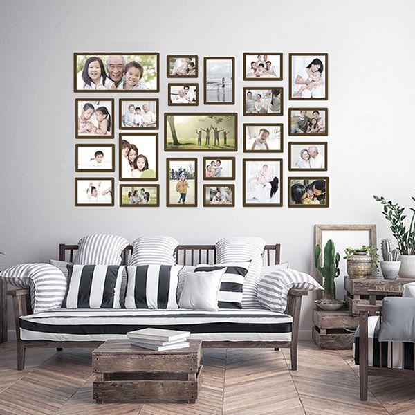 22 molduras COM revelação fotográfica (150cm x 90cm)