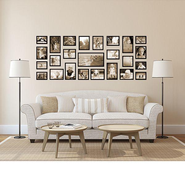 25 molduras COM Revelação Fotográfica (180cm X 70cm)