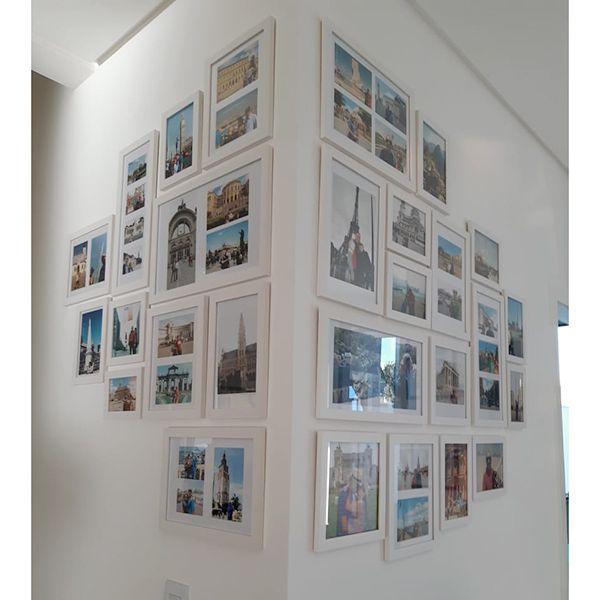 27 molduras COM Revelação Fotográfica (210cm X 120cm)
