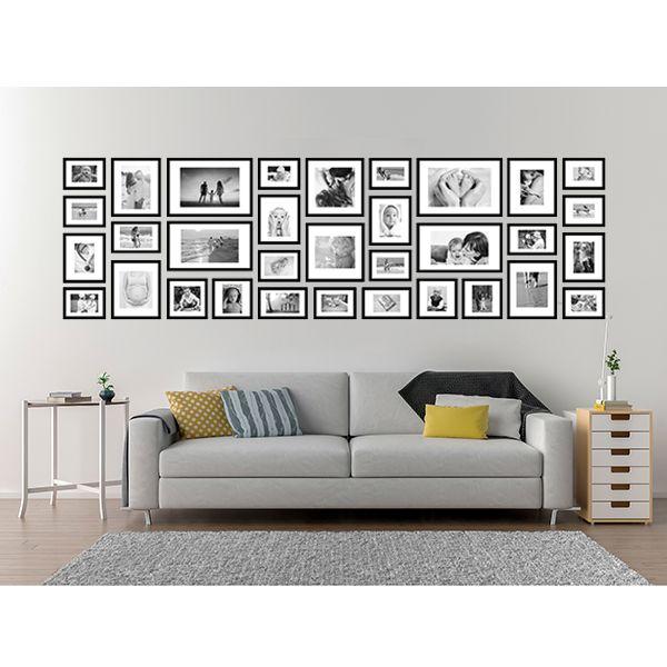 33 molduras COM Revelação Fotográfica (300cm X 90cm)