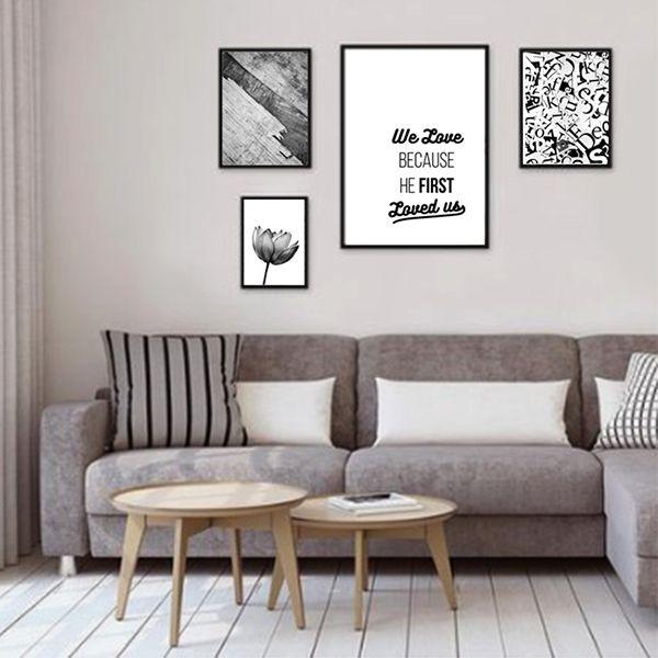 4 molduras COM Revelação Fotográfica  (115cm X 70cm)