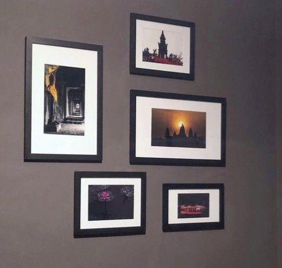 5 molduras COM Revelação Fotográfica (80cm X 90cm)