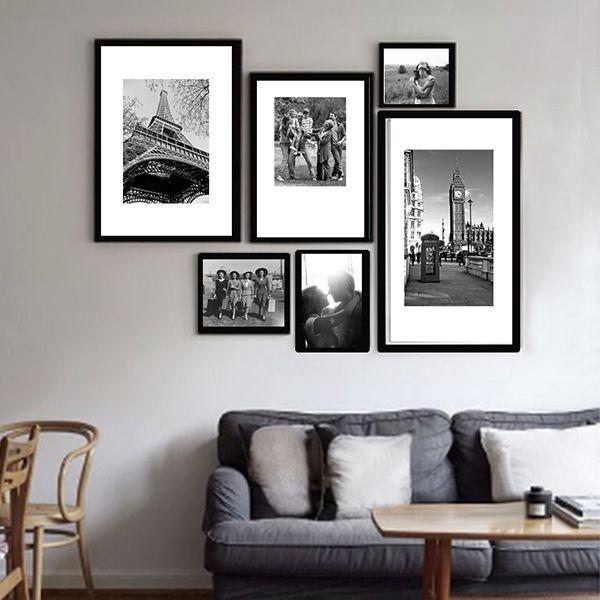 6 molduras COM revelação fotográfica (110cm X 90cm)