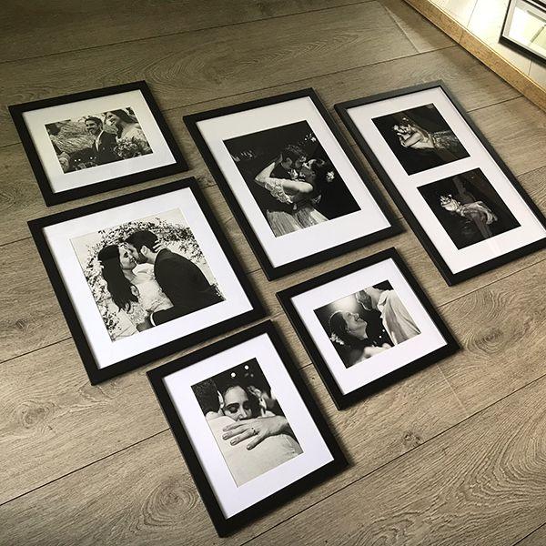 6 Molduras COM revelação fotográfica (125cm X 100cm)