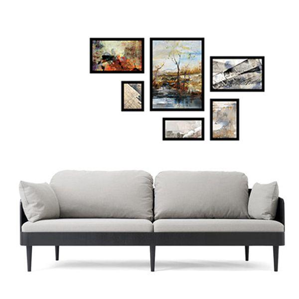 6 molduras COM revelação fotográfica (140cm X 80cm)