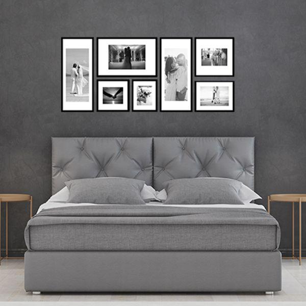 7 molduras COM revelação fotográfica (120cm X 50cm)