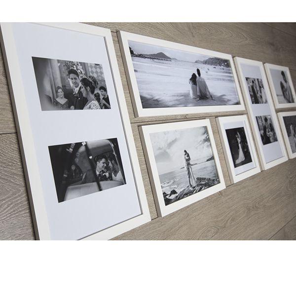7 molduras COM Revelação Fotográfica (140cm X 55cm)