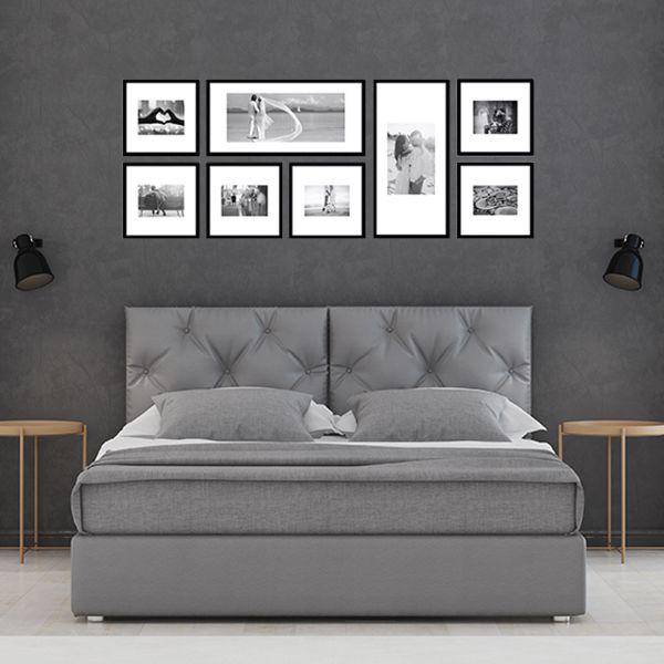 8 molduras COM revelação fotográfica (150cm X 55cm)
