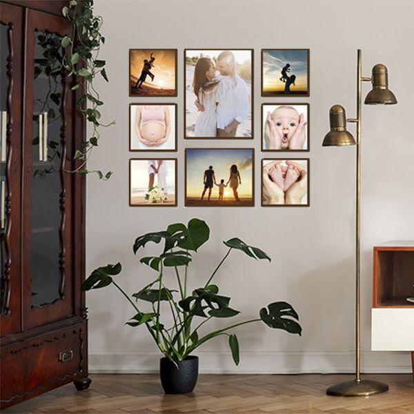 8 Molduras COM Revelação Fotográfica (85cm x 75cm)