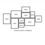 10 Molduras COM Revelação Fotográfica (200cm X 110cm)