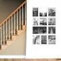 11 molduras COM Revelação Fotográfica (70cm  X 110cm)