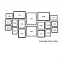 18 molduras COM Revelação Fotográfica (170cm X 85cm)