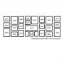 25 molduras COM Revelação Fotográfica (200cm X 70cm)