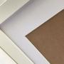 8 Molduras 20x25 com passe-partout para foto 13x18