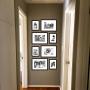 8 Molduras COM Revelação Fotográfica (60cm X 120cm)