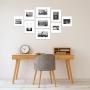 9 Molduras COM Revelação Fotográfica (130cm X 70cm)