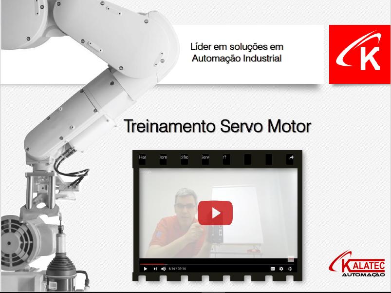 Curso de Programação de SERVOS MOTORES DELTA.