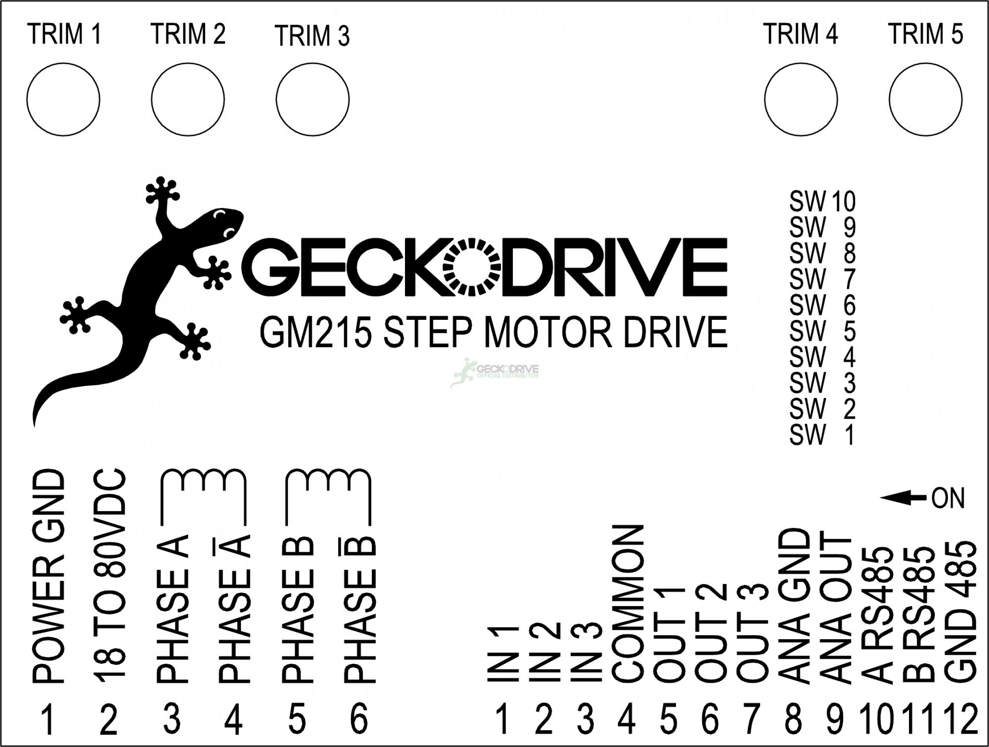 GM215 DRIVE