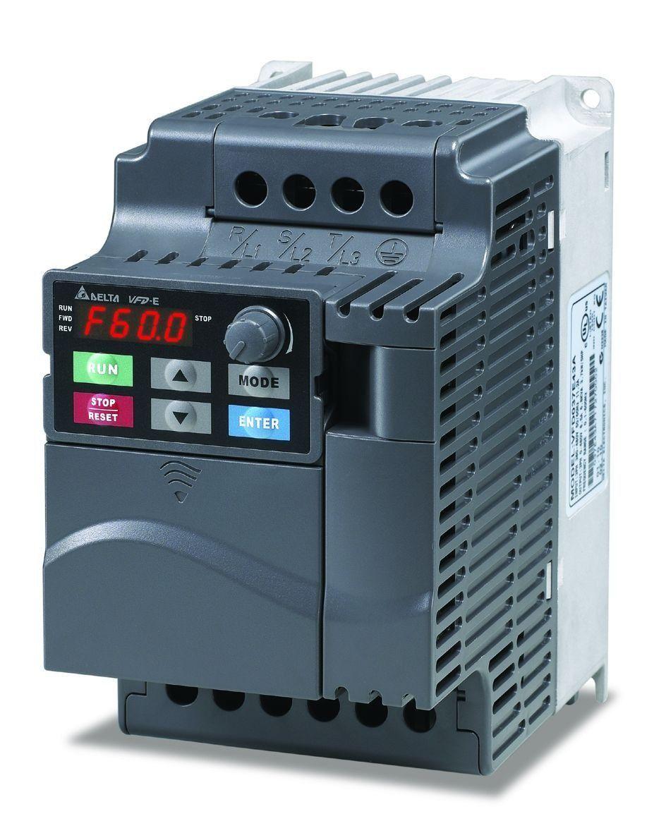 Inversor de Frequência Delta 0,50CV - 220V-TRIFASICO
