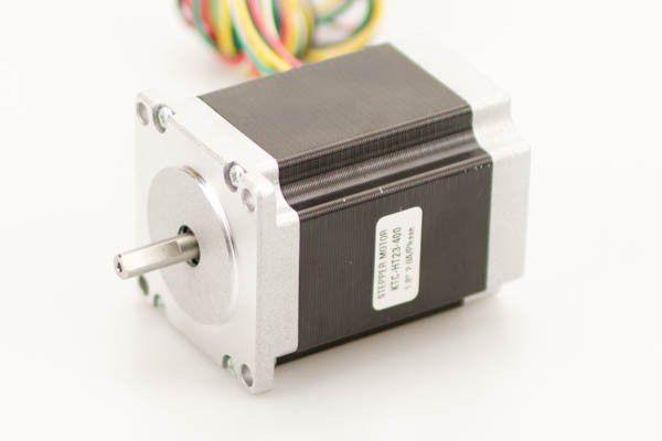 HT23-400  - Motor de Passo - Torque Estático de  19 Kg.cm
