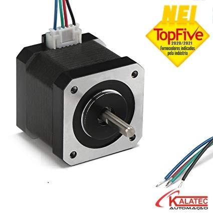 Motor de Passo para Impressora Nema 17 4.2Kg.cm