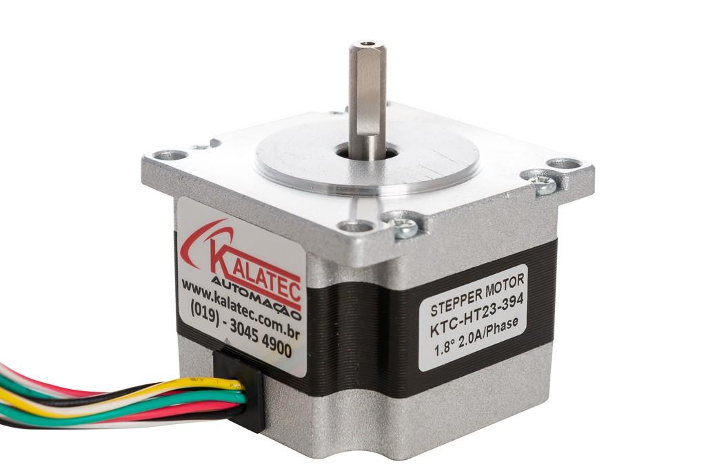 Motor de Passo Nema 23 - 12 Kg.cm |HT23-397| kalatec Automação