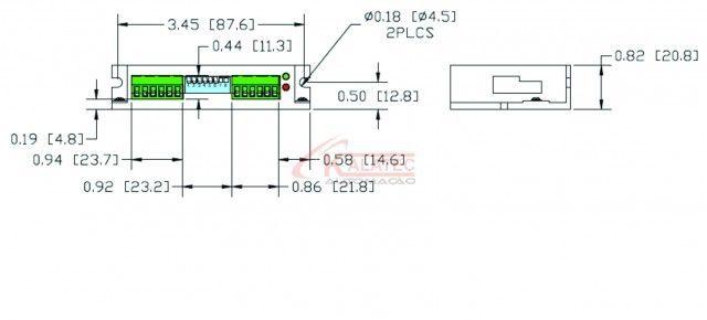 STR2 Drive de Motor de Passo 2.0A e 48VDC