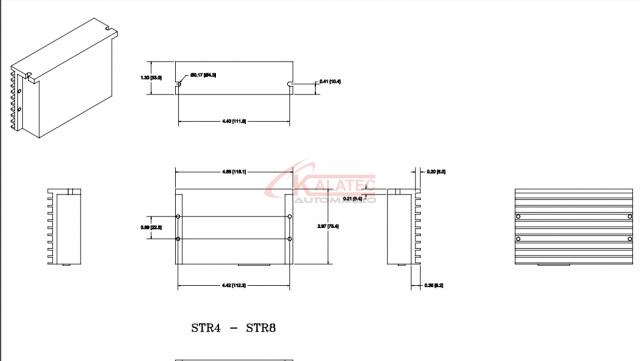 STR8 Drive de Motor de Passo 8A e 75VDC