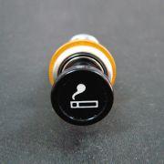 Acendedor de cigarros 12 volts c/ iluminação laranja