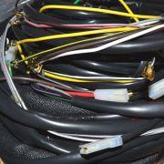 Chicote completo p/ FUSCA 1600 ALTERNADOR / 12 fusíveis