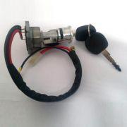 Cilindro ignição c/ chave Fusca 67/77 + comutador e excêntrico