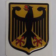 Emblema adesivo resinado Brasão das armas alemanha