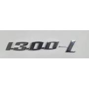 Emblema metal cromado colante 1300-L