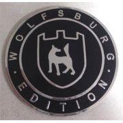 Emblema WOLFSBURG 65mm colante