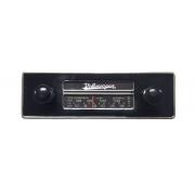 Frente falsa I tapa buraco do RADIO FUSCA c/ botão preto