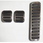 Jg capa pedal freio embreagem acelerador fusca até 75