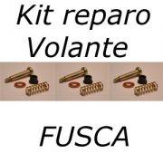 Kit reparo volante FUSCA 1959 até 1978 molas buchas e parafusos