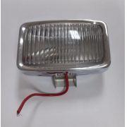 Lanterna auxiliar luz de ré metal cromado